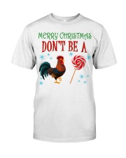 Merry Xmas Chicken Classic T-Shirt tile
