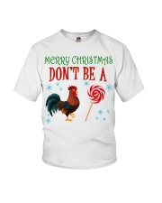 Merry Xmas Chicken Youth T-Shirt tile