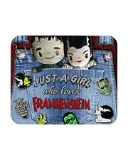 Just A Girl Who Loves Frankenstein Tote Mousepad tile