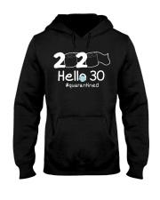 Hello 30 Quarantine Hooded Sweatshirt thumbnail
