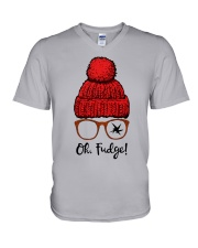 Oh Fudge V-Neck T-Shirt thumbnail