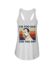 I'm Too Old Ladies Flowy Tank tile