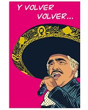 Vicente Fernández Poster 11x17 Poster front