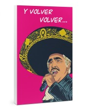 Vicente Fernández Poster Gallery Wrapped Canvas Prints tile