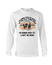 I'm Gonna Take My Horse Long Sleeve Tee thumbnail