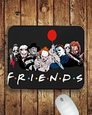 Horror Friends Mousepad Mousepad aos-mousepad-front-lifestyle-2