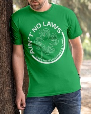 Ain't No Laws Classic T-Shirt apparel-classic-tshirt-lifestyle-front-51