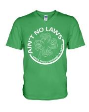 Ain't No Laws V-Neck T-Shirt thumbnail
