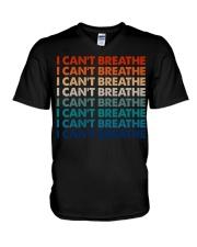 I Can't Breathe 6 V-Neck T-Shirt tile