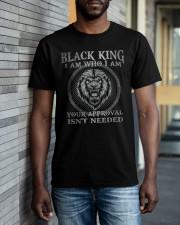 Black King  Classic T-Shirt apparel-classic-tshirt-lifestyle-front-40