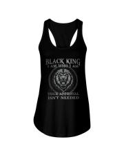 Black King  Ladies Flowy Tank tile