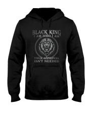 Black King  Hooded Sweatshirt tile
