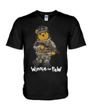 Winnie The Pew V-Neck T-Shirt thumbnail