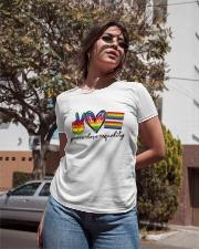 Peace Love Equality Ladies T-Shirt apparel-ladies-t-shirt-lifestyle-02