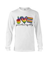 Peace Love Equality Long Sleeve Tee thumbnail