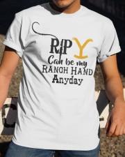 RIP Yellow Classic T-Shirt apparel-classic-tshirt-lifestyle-28