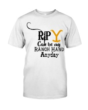 RIP Yellow Classic T-Shirt front