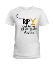 RIP Yellow Ladies T-Shirt thumbnail