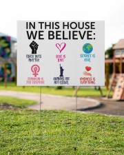 We Believe Yard Sign 24x18 Yard Sign aos-yard-sign-24x18-lifestyle-front-18