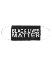 Black Lives Matter Face Mask Cloth face mask aos-face-mask-coverlet-lifestyle-front-01