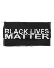 Black Lives Matter Face Mask Cloth face mask front