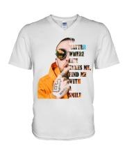 No Matter V-Neck T-Shirt tile