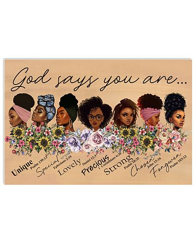 God Says You Are Poster