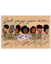 God Says You Are Poster 17x11 Poster front