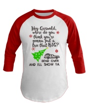 Hey Griswold Baseball Tee front