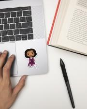 Thomas Jefferson Sticker - Single (Vertical) aos-sticker-single-vertical-lifestyle-front-12