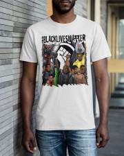 Black Lives Matter Hero Classic T-Shirt apparel-classic-tshirt-lifestyle-front-40