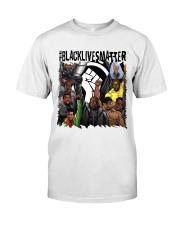 Black Lives Matter Hero Classic T-Shirt front
