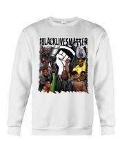 Black Lives Matter Hero Crewneck Sweatshirt tile