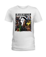 Black Lives Matter Hero Ladies T-Shirt tile