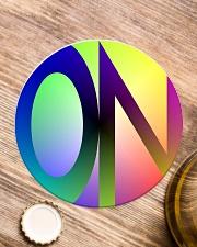 CIRCLEON Circle Coaster aos-coaster-round-front-lifestyle-1