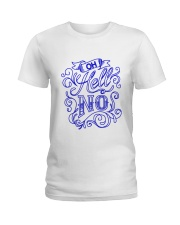 Women's T-shirts printed with Hello  Ladies T-Shirt front