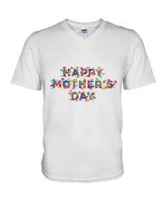 Happy mother day V-Neck T-Shirt thumbnail