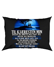 til kjaeresten min dagen jeg motte Rectangular Pillowcase thumbnail