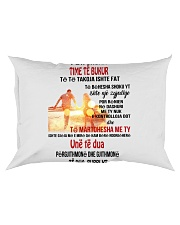 per gruan time te bukur Rectangular Pillowcase tile