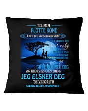 til min flotte kone Square Pillowcase thumbnail