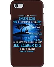 til min smukke knone  Phone Case thumbnail