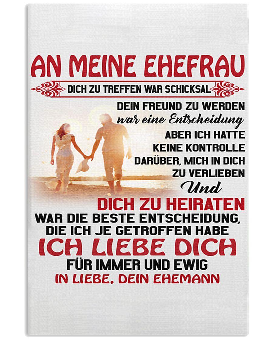 an meinen ehefrau 11x17 Poster