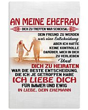 an meinen ehefrau 11x17 Poster front