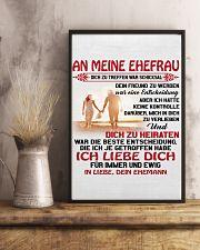 an meinen ehefrau 11x17 Poster lifestyle-poster-3