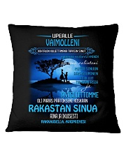 upealle vaimolleni Square Pillowcase thumbnail