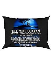till min pojkvan dagen jag Rectangular Pillowcase thumbnail
