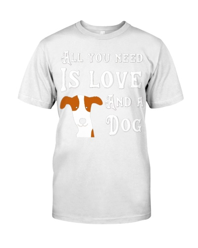 All you need is love and a dog pet lover
