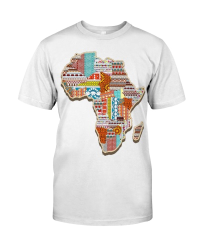 African Tribal Pattern Continent Africa T