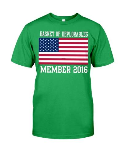 Basket Of Deplorables Member 2016