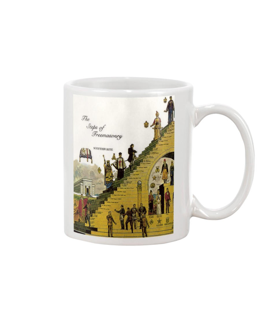 The Steps Of Freemasonry Mug
